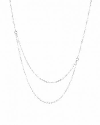 Sølvhalskæde - Radius af Guldsmed Ø