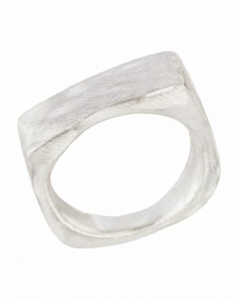 "Ring ""Boyfriend cut"" (Sølv)"